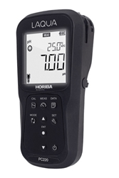 Picture of Horiba PC220-K PH, ORP, EC, TDS, Salinity, Res, Temp, data logging Kit